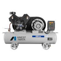 巖田 TFPJ37-10 無油空壓機 活塞式儲氣罐搭載型 3.7KW功率