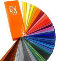 德國RAL K5勞爾色卡 亮光型 含213種勞爾經典系列顏色扇形色卡