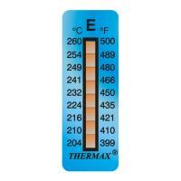 英國Thermax(TMC) 8格E測溫紙 型號08STHERNGED 卷剛涂料專用