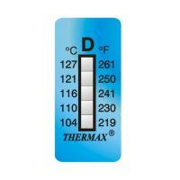 英國Thermax(TMC) 5格D 溫度記錄紙 104~127℃