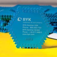 德国 BYK 3510 塑料湿膜梳湿膜测厚仪 1套100个 测量范围为25~2000μm