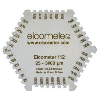 英國 Elcometer112 B112----1B 六角濕膜梳 濕膜厚度:25~3000µm