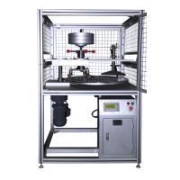 現代環境 CCT-2 地板覆蓋物耐腳輪磨耗試驗機 φ800mm