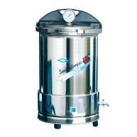 上海三申 YX280/20 手提式不锈钢压力蒸汽灭菌器 座式电热/20L