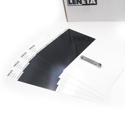 美國Leneta 2A罩光油遮蓋力測試卡紙圖片