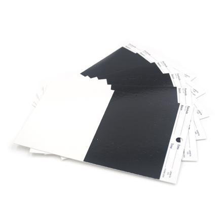 美国Leneta Form 2DX 遮盖力卡纸 Leneta热门型号罩光油卡纸图片