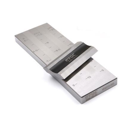 荷蘭 TQC VF2112 雙槽細度板 0-50µm  帶校準證書圖片