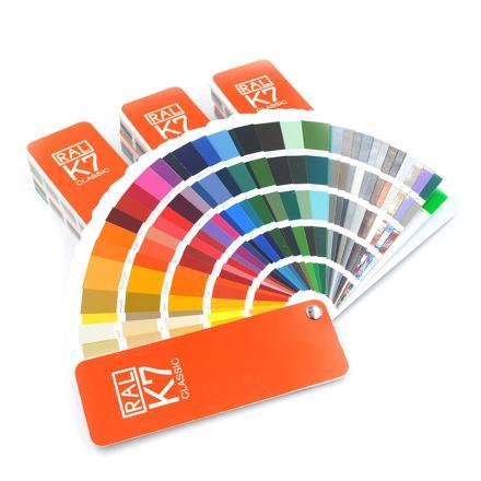 德國RAL K7勞爾色卡 含213種國際標準顏色 最新版圖片