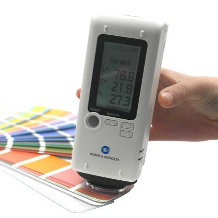 柯尼卡美能達 CR-10 Plus 小型色差計 中文界面 電腦應用程序 更大顯示屏圖片