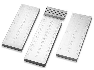 普申/Pushen PU-2421 不锈钢双槽细度计 0-50μm