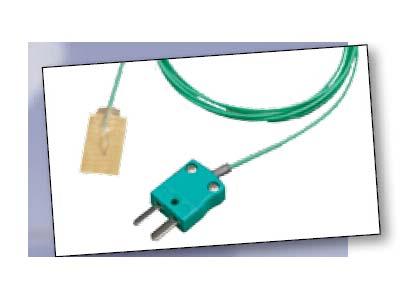 英国Datapaq PA0060 热电偶探头 最高温度265℃(509°F) 黏性贴片探头