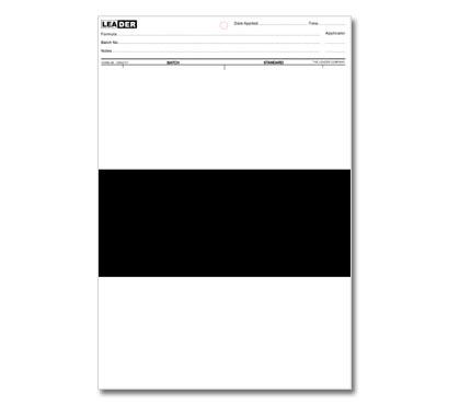 特沃兹 OTZ 3B 遮盖力测试纸 上白中黑下白