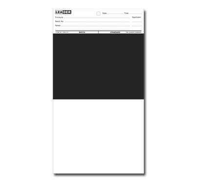 特沃兹 OTZ 2A 遮盖力测试纸 黑白对半 上黑下白