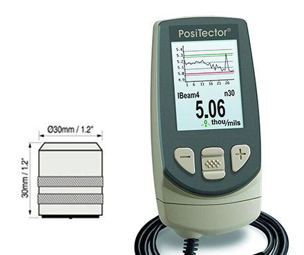 Defelsko PosiTector 6000 FKS3 涂层测厚仪 磁感应测厚 厚涂层专用探头