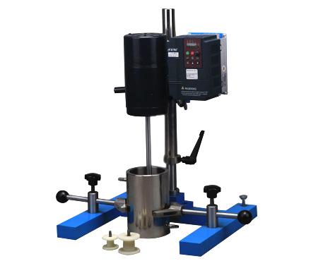 现代环境 SFJ-400 砂磨、分散、搅拌多用机 变频调速类型 适用不同的实验室试验要求