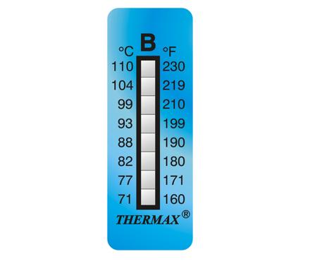 英国Thermax(TMC) 温度美8格B板温纸 型号08STHERNGBD