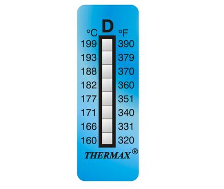英国Thermax(TMC) 温度美8格D板温纸 型号08STHERNGDD