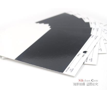 Leneta 2DX遮盖力卡纸侧面图