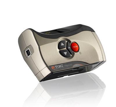 TQC GL0010单角度光泽度仪侧面底部实拍图