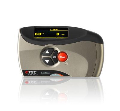 TQC GL0010单角度光泽度仪正面按钮图