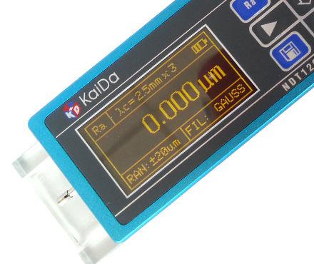 凱達NDT120光潔度儀液晶顯示屏