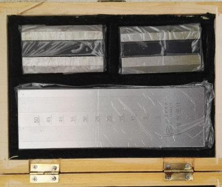 金孚伦 QXD 0-25双槽刮板细度计 10μm分度值