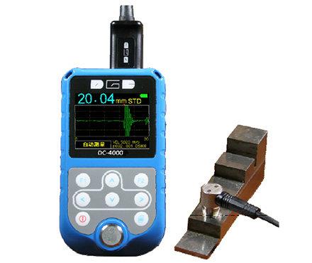 高精密超声波测厚仪 DC-4000 德光电子 自动和手动测量