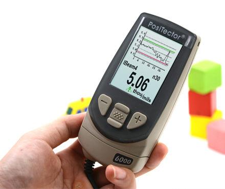 Defelsko PosiTector 6000 N90S3 涂层测厚仪 90°探头 电涡流测厚原理