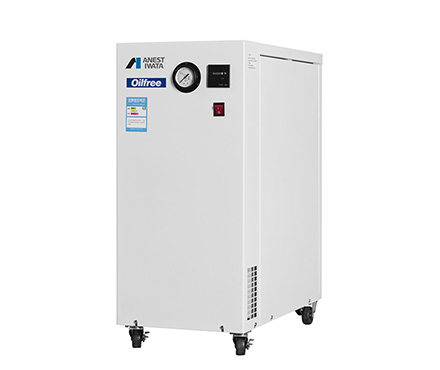 岩田 CFPJ02B-6 无油活塞式空压机 带静音箱型 0.2KW功率
