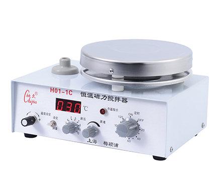 驰久/梅颖浦 H01-1C 数显恒温磁力搅拌器 搅拌容量5000ml