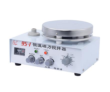 驰久/梅颖浦 95-1 恒温磁力搅拌器 单/双向搅拌 容量为3000/2000ml