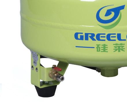 硅萊GA-61靜音無油空壓機球閥細節圖