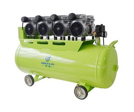 硅莱 GA-64 静音无油空压机 2400W功率 配4个泵头