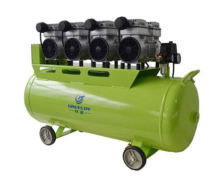 硅莱 GA-84 静音无油空压机 功率为3200W 配4个泵头