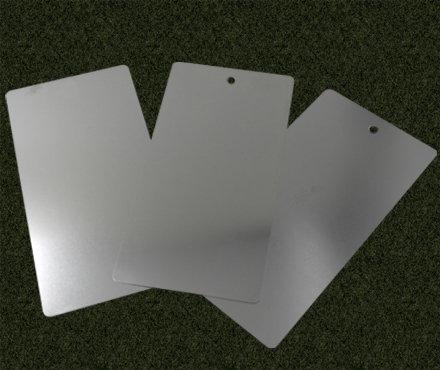 特沃兹 100x150x0.35(带7mm孔) 实验用马口铁 厚度为0.35mm