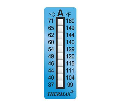 英國Thermax(TMC)測溫紙 10格A02 溫度范圍37℃~71℃