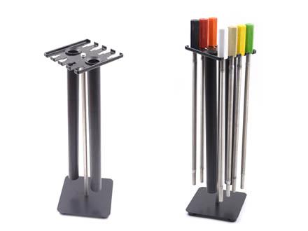英国RK KHC.30 清洗架 用于存放RK涂布棒 提高使用寿命