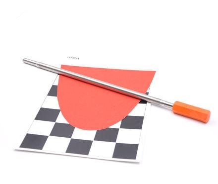 英国RK KHC.11.6丝棒涂布器 湿膜厚度60μm 橙色胶头6号棒