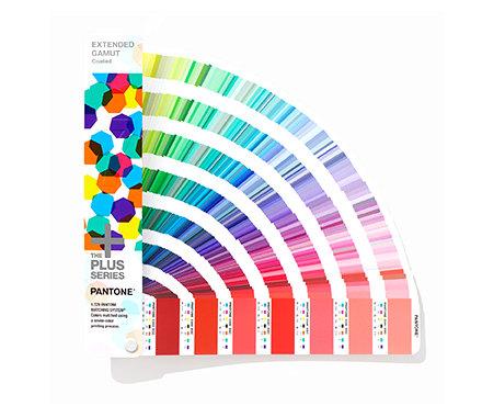 潘通Pantone GG7000 国际标准色卡 CMYKOGV 七色印刷色卡