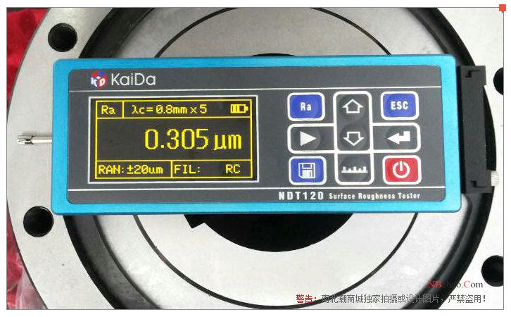 凱達NDT120表面光潔度儀實拍圖3
