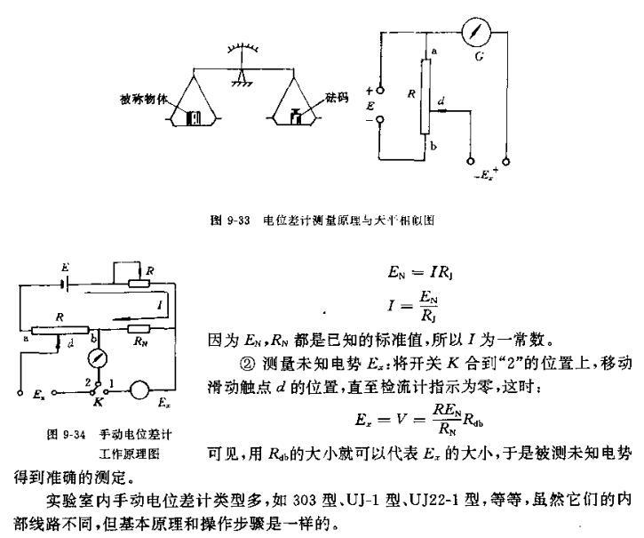 """①校准工作电流:将开关k合在""""l""""的位置,调节电位器r1,使检流计指示为"""