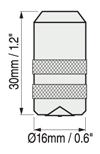Defelsko PosiTector 6000系列涂層測厚儀分體式常規探頭尺寸圖