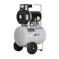 岩田 TFPJ02B-6 无油活塞式空压机 储气罐搭载型 控制压力0.2~0.4MPa