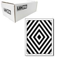 美国Leneta 8K 黑白格遮盖力纸 黑白相间条纹