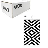 美国Leneta 8A 遮盖力测试纸 黑白相间条纹