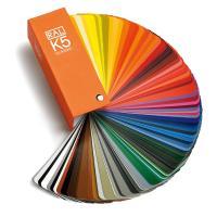 德国RAL K5劳尔色卡 半哑光型 含213种劳尔经典系列颜色扇形色卡