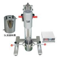 高速分散机 齐威 FS-1000D数显高速分散机 配5升双层料桶