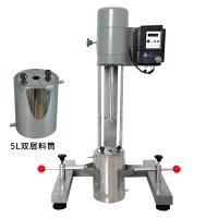 齐威 JFS-750 涂料高速变频分散机 电动升降 配5升双层料桶