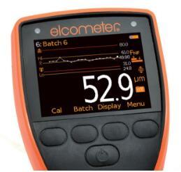 易高Elcometer 456 A456CFSI1涂层测厚仪趋势图数据统计